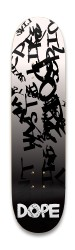 DOPE 8.25'' Graffiti Official Park Skateboard 8.25 x 32.463