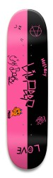 lil peep Park Skateboard 8.5 x 32.463