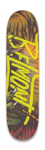 Belmont Self Titled Board Park Skateboard 8.25 x 32.463