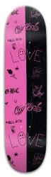 lol peep my design Park Skateboard 8 x 31.775
