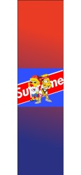 Sibling Supreme Custom Skateboard Griptape 9x34 in.