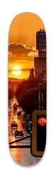 Sunset City Park Skateboard 8.25 x 32.463