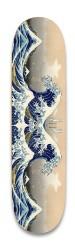 The Great Wave Off Kanagawa Park Skateboard 8.25 x 32.463