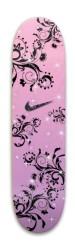 Pink & Purple Nike Skateboard W/ Bl Park Skateboard 7.88 x 31.495