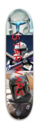 star wars super board Park Skateboard 7.88 x 31.495