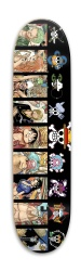 Straw Hats Park Skateboard 7.88 x 31.495