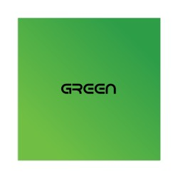 Green Sticker 4 x 4 Square