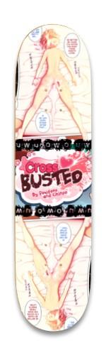 Cross Busted Park Skateboard 8.25 x 32.463