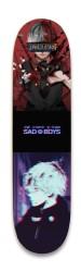 sad boy anime Park Skateboard 8.25 x 32.463