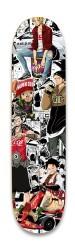 One Piece Street Collage Park Skateboard 8.25 x 32.463