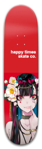 happy flower Park Skateboard 8 x 31.775