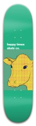 happy cow Park Skateboard 8 x 31.775