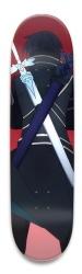 Sword Art Online Kirito Park Skateboard 8.5 x 32.463