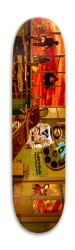 Subliminal Propaganda Park Skateboard 7.88 x 31.495