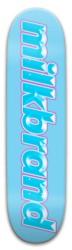 milkbrand Diamond Logo Deck Park Skateboard 8 x 31.775