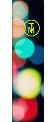 Blury lights Doug Custom Skateboard Griptape 9x34 in.
