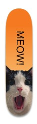 MEOW! Park Skateboard 8.25 x 32.463
