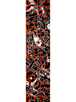 ZEF SIDE Custom longboard griptape