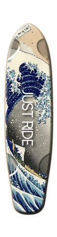 Great Wave Tallboy Skateboard Deck