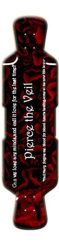 Pierce the Veil Logo Longboard Perfecto 39 Complete Longboard