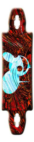DeadMau5!!! Dope longboard Gnarliest 40 Skateboard Deck