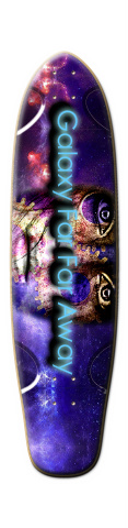 Star Face Tallboy Skateboard Deck