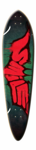 Joker smile Dart Skateboard Deck