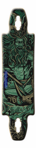 THE KRAKEN Gnarliest 40 Skateboard Deck