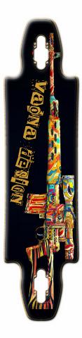 big gun Gnarliest 40 Skateboard Deck