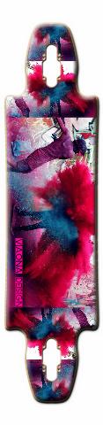 powder war Gnarliest 40 Skateboard Deck