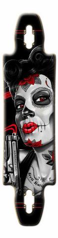 lady death 2 Gnarliest 40 Skateboard Deck