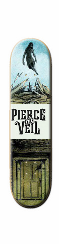 pierce the veil Skateboard 31.2 x 7.625