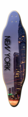 New York Sloop Skateboard Deck