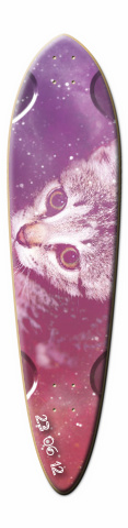 Cat Love Dart Skateboard Deck