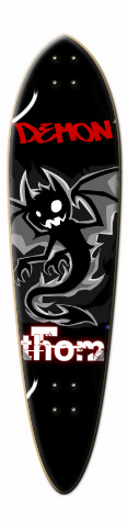 Demon Dart Skateboard Deck