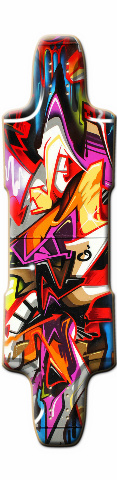 Carerra Skateboard Deck