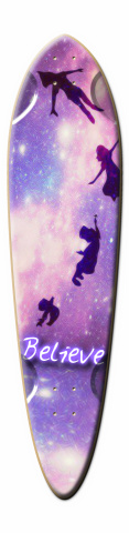 Believe Dart Skateboard Deck
