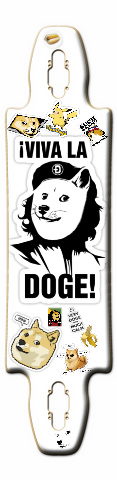 Such doge Gnarliest 40 Skateboard Deck