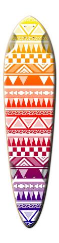 Aztec Dart Skateboard Deck