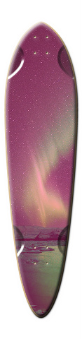 Night Ride Dart Skateboard Deck