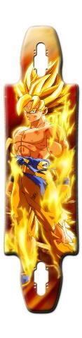 SSJ Goku Gnarlier 38 Complete Longboard