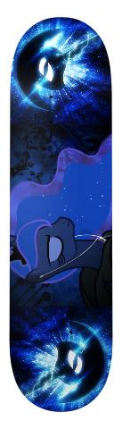 luna Banger Park Skateboard 7.75 x 31.25