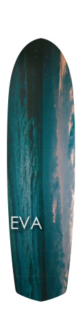 the eva Diamond Tail Longboard 10 x 38