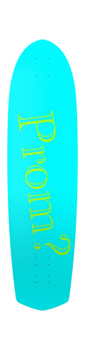 Diamond Tail Longboard 10 x 38