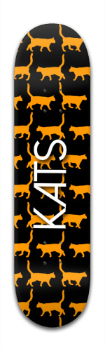 Kats Banger Park Skateboard 8 x 31 3/4