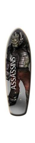 killer croc Lilguy Complete Skateboard