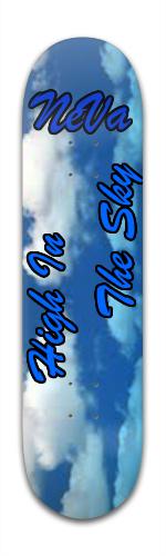 The Sky Banger Park Skateboard 8 x 31 3/4
