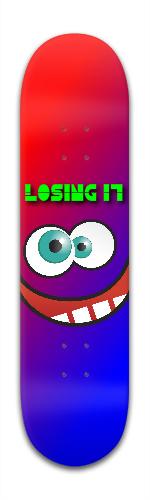 Losing It! Skateboards Banger Park Skateboard 8 x 31 3/4