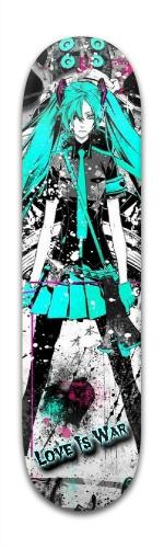 Hatsune Miku Love Is War Park Skateboard 8 x 31 3/4
