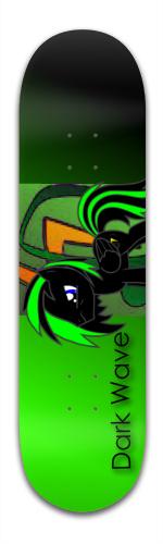 Dark Wave Banger Park Skateboard 8.5 x 32 1/8